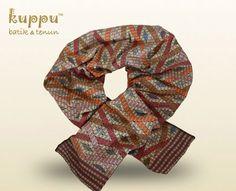 Silk rayon Tenun Imam Scarf  By Kuppu Batik &Tenun  950.000,00  - 170 x 38 cm  (WxL)  More info  Laura 08119103668 Pin bb 751E6162  #syal #kuppu #batik #scarf #kain #handmade #madeinindonesia