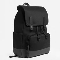 The Dipped Snap Backpack - Black   Black 13a036332e94a