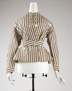 1860-65 Jacket, American, cotton