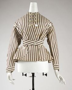 1860-65 Jacket, American, cotton