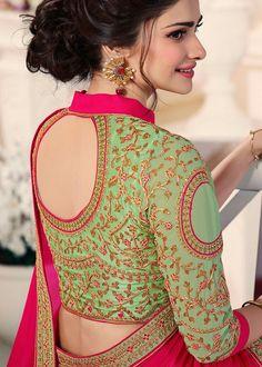 Prachi Desai, Blouse Designs Silk, Indian Designer Outfits, Indian Fashion, Cold Shoulder Dress, Lady, Female Art, Blouses, Dresses
