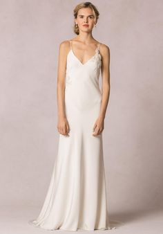 Jenny Yoo Collection Celine Applique Wedding Dress photo