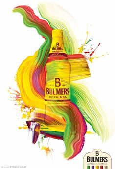 Bulmers: Colourful, 4 - Adam & Eve DDB, London, UK