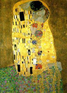 El beso, Gustav Klimt