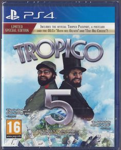 Playstation 4 Tropico 5 -- Limited Special Edition (PS4)  - BRAND NEW