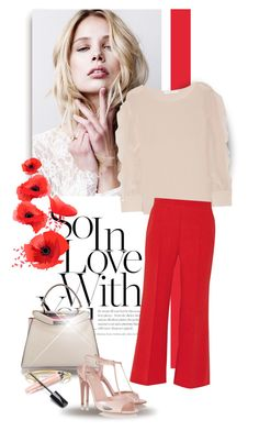 """""""#3882"""" by bliznec ❤ liked on Polyvore featuring Fendi, See by Chloé and Jennifer Fisher"""