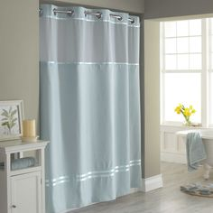 Hookless® Escape 71-Inch x 74-Inch Fabric Shower Curtain and Shower Curtain Liner Set in Taupe