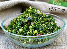 Kale Mallung Stir-Fry with Coconut
