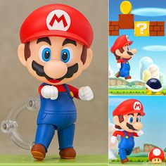 Nendoroid - Super Mario: Mario. via: http://www.amiami.com/top/detail/detail?gcode=FIGURE-009118