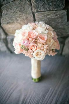 Bouquet rosa pesca 12