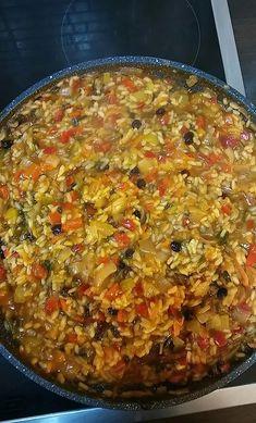 Greek Recipes, Rice Recipes, Italian Recipes, Cookbook Recipes, Cooking Recipes, Best Rice Recipe, Food Tasting, Group Meals, International Recipes