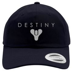 Destiny Embroidered Cotton Twill Hat