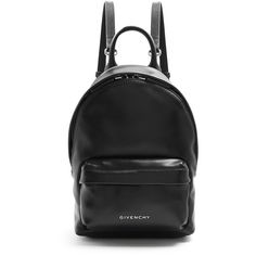 Givenchy Leather mini  backpack (3.900 RON) ❤ liked on Polyvore featuring bags, backpacks, black, leather backpack, miniature backpack, givenchy, leather daypack and checkered backpack