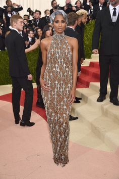 Ciara at the Met Gala - The Most Beautiful Gowns of 2016 - Photos