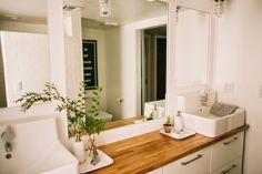the most amazing bathroom overhaul...WOW