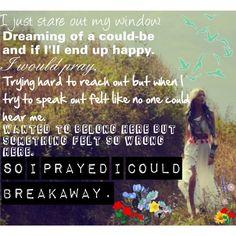 """""""Breakaway- Kelly Clarkson."""" by ttom19 on Polyvore"""