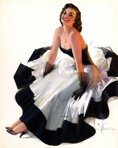 vintage pinup - Rolf Armstrong