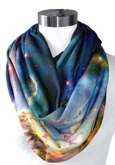 Galaxy scarf. OMG it would match my neptune blackmilk legs perfectly. :D