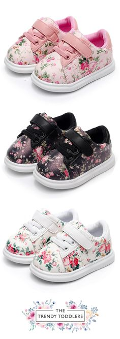 1baad42a302c Need a new pair of shoes  SHOP Our Cute Flower Sneakers for Baby   Toddler