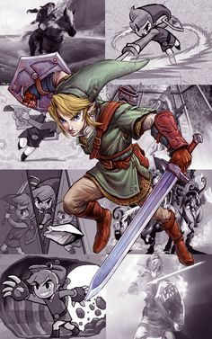 If I could play Zelda all day, I would...And one day, I shall.