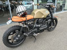 Bmw k75 scrambler Cafe Bike, Bmw Cafe Racer, Cafe Racers, Vespa, Arch Motorcycle, Street Scrambler, Bmw Motors, Riders On The Storm, Bmw Motorcycles