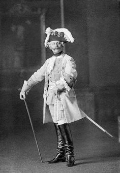 Wilhelm in a cosplay