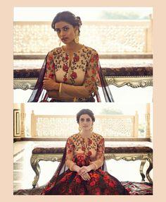 Brown Silk Anarkali Salwar Kameez 78479