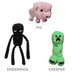 Creeper Enderman pig