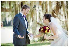 First Look Wedding First Look, Wedding Pinterest, Love Birds, Real Weddings, Romantic, Wedding Dresses, Bride Dresses, Bridal Gowns