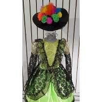 Disfraz Catrina De Lujo Vestido Niña Llorona Brujita Calaca