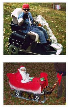 Wheelchair Halloween Costumes 2012