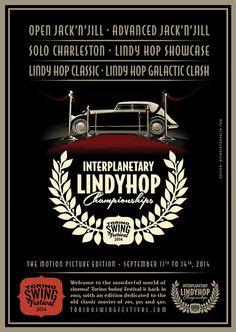 Torino Swing Festival 2014 -  International Lindy Hop Championships #poster…