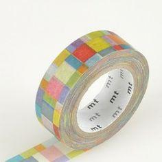 MT Japanese Washi Tape – Mosaic Bright.  Get it here: http://washikawaii.com/shop/japanese-washi-masking-tape-mosaic-bright/