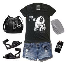 One Love Outfit inspiration for the lovely Ladies with our Stellar Love dark grey tee + perfect accessories to match with it www.stellar-seven.com #stellarseven #onelove #fashion #momootd #ootd