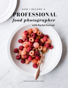 How Rachel Korinek became a professional food photographer. Click to read her journey (and watch the video!)