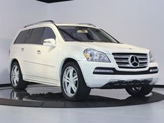 Mercedes GL550 - for when I have kids to drive to practice. :)