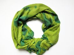 Hand-dyed, Up-cycled Green Pashmina Scarf Shawl Wrap, Men's Fashion, Fall 2013 Men's Fashion, Man Scarf, Men's Scarf, Winter Scarf Patient Peony Austin, TX