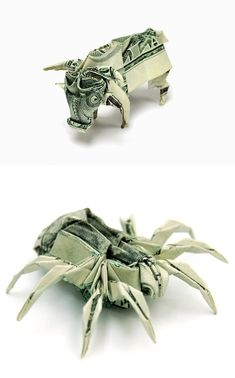 Incredible Money Origami by Won Park