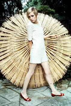 Twiggy by Famous Fashionistas (First), via Flickr