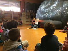 Planetario en la escuela. Una actividad para conocer el espacio en el colegio.