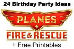 24 Disney Planes Free Printables for Birthday Party