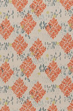 """Lacefield Cut Yardage Textiles Danish Linen 87% Cotton 13% Rayon 55 Inches Wide Repeat H: 13.5"""" V: 12.625"""" Printed in the USA"""