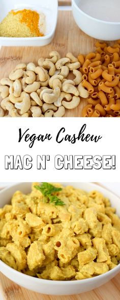 Oil free, whole food plant based, simple creamy and delicious vegan mac and cheese recipe with a gluten free and high protein option!