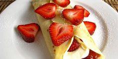Creamy Strawberry Crapes Recipe
