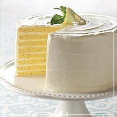 YUM, it's a lemon version of the Smith Island Cake