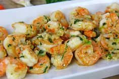 How garlic shrimp is done in the Caribbean. Click for the full recipe, including video tutorial.