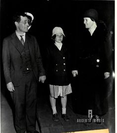 Margaret McMath, age 10, kidnapped by the Buck brothers after her release.