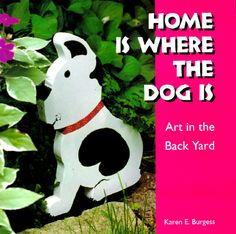 dogs in yard art