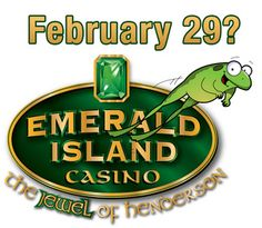 We hope you join us on February 29th to celebrate #LeapDay. Come out and play our NEW penny slot, keno and video poker machines at the #EmeraldIslandCasino where every day, including February 29th, is promotion day!!!   #AllPennyCasino #Gaming #HendersonNV #Gambling #LocalCasino