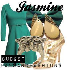 """Jasmine"" by sunshineowlnew ❤ liked on Polyvore"